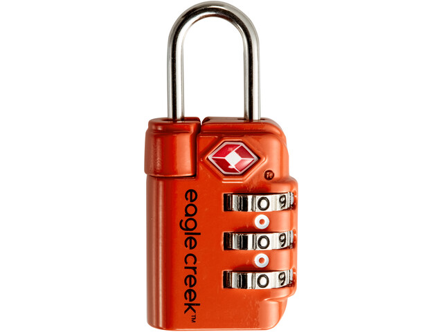 Eagle Creek Travel Safe TSA Lukko, flame orange